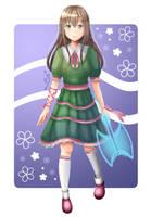 Art Trade: Custom Adoptable + SpeedPaint by Fuyukine