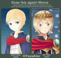 Draw This Again Meme by Fuyukine