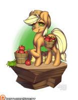 Island Pony - Applejack by NorthernSprint