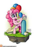 Island Pony - Pinkie Pie by NorthernSprint