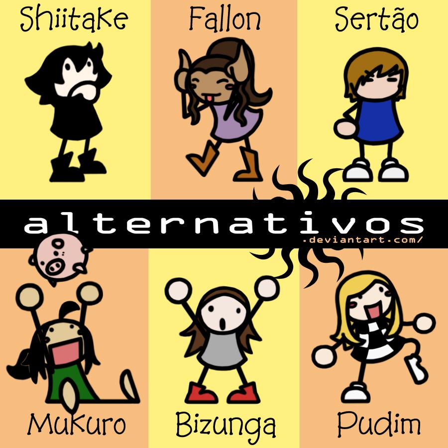 No. 000 - Personagens by alternativos