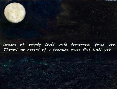 Until tomorrow finds you.. by Tardismonkey