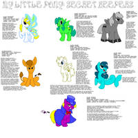 My Little Pony: Secret Keepers by RHJunior