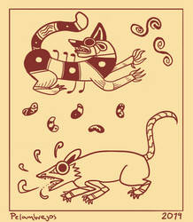 Moche Iconographic Study by yearofbacon