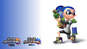 Smashified - Inkling Boy Wallpaper by TheExodude