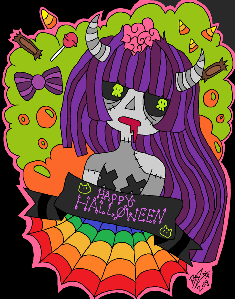 Happy Halloween 2018 by toxicxnero