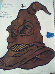Art From Wall: Harry Potter Sorting Hat by AutumnHearts23