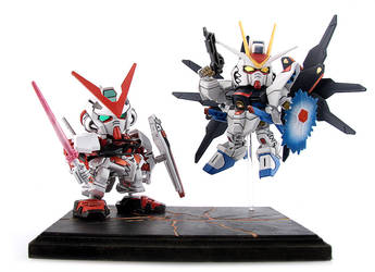 Gundam SD Attack by alienspawn