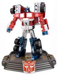 Laser Optimus Prime G1 Style