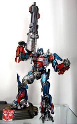 Optimus Prime Dual Model Kit by alienspawn