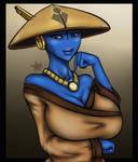 Tau Girl Water Caste