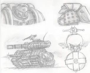 Warhammer skerch by MIXSAN
