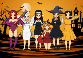 Happy Halloween 2014!! by RiverAngel16
