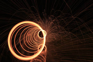 Red Spiral by BusterBrownBB