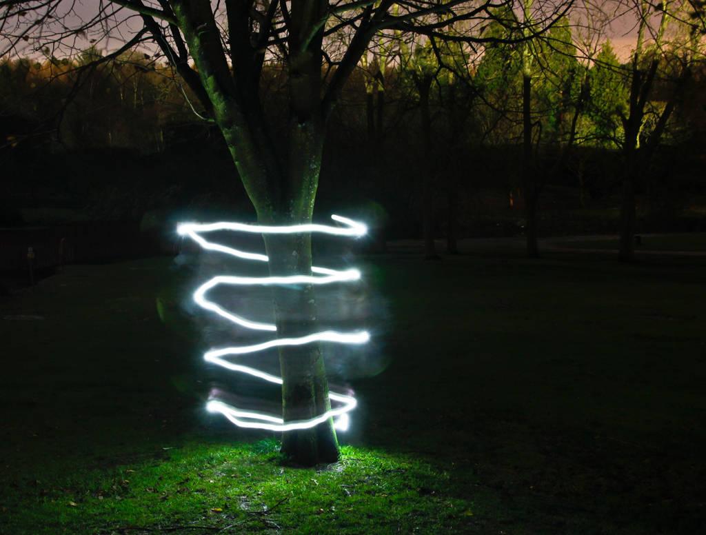 Light Spiral by BusterBrownBB