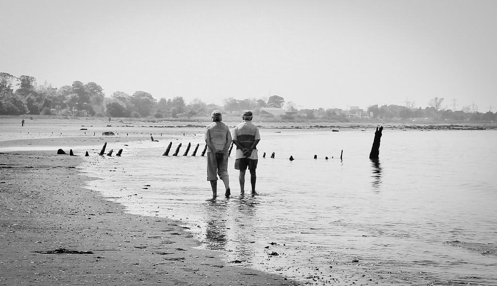 A Walk on the beach by BusterBrownBB