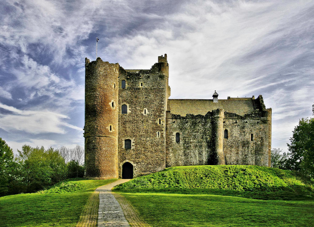 Doune Castle Redux by BusterBrownBB