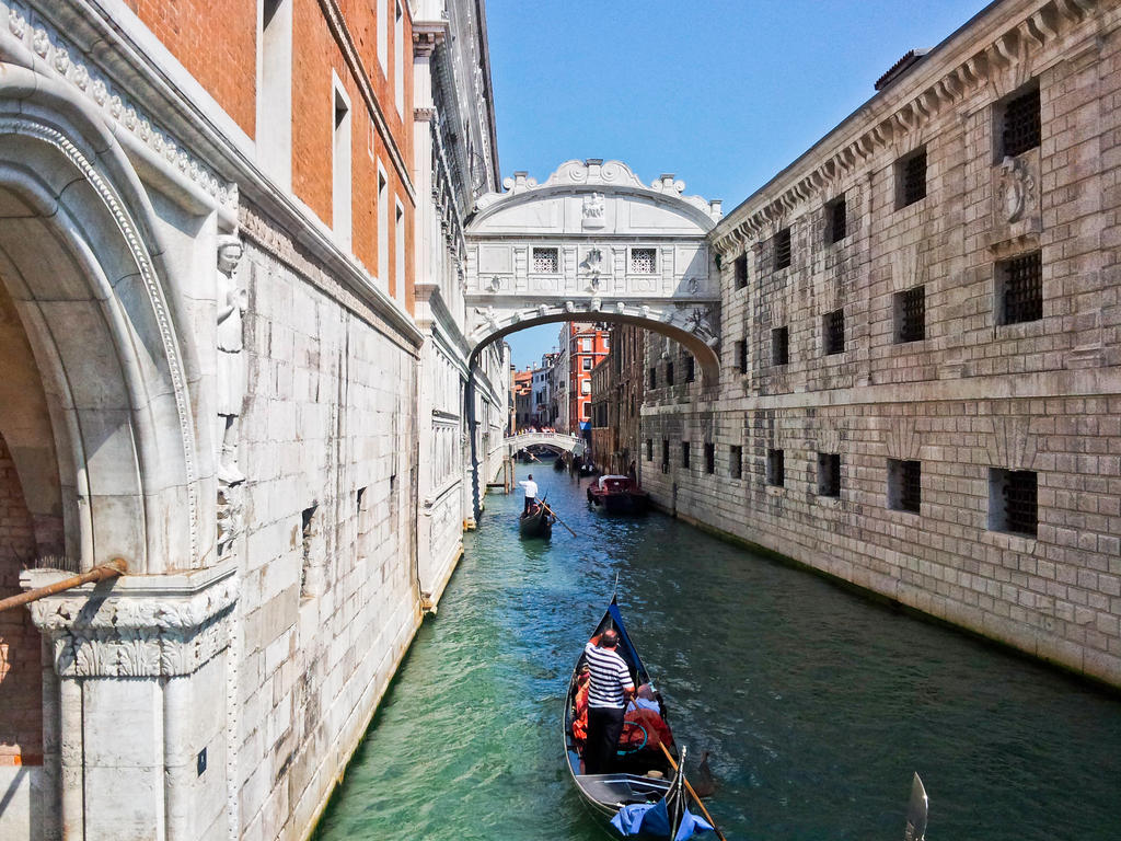 The Bridge of Sighs Venice by BusterBrownBB