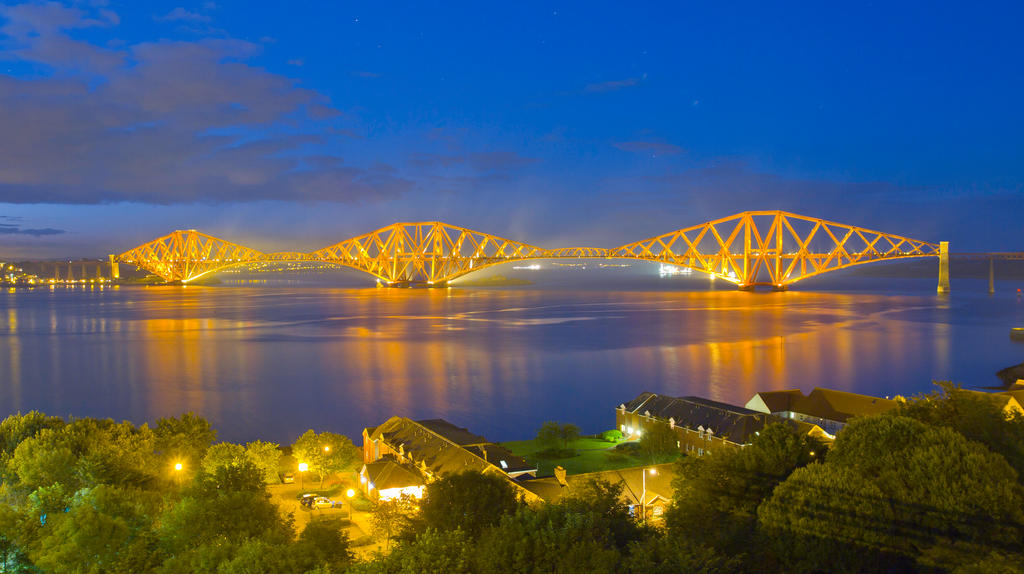 Forth Rail Bridge Scotland by BusterBrownBB