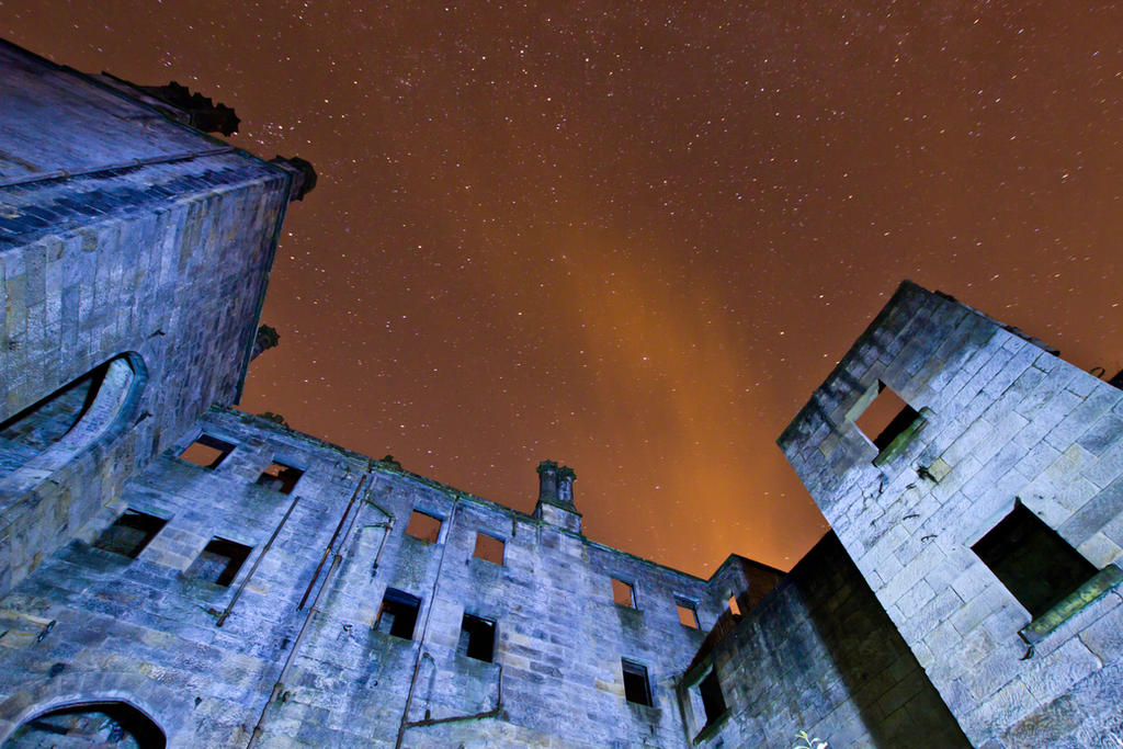 Dunmore House Night Sky by BusterBrownBB