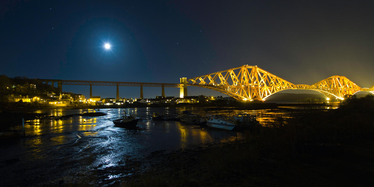 North Queensferry and the Forth Rail Bridge by BusterBrownBB