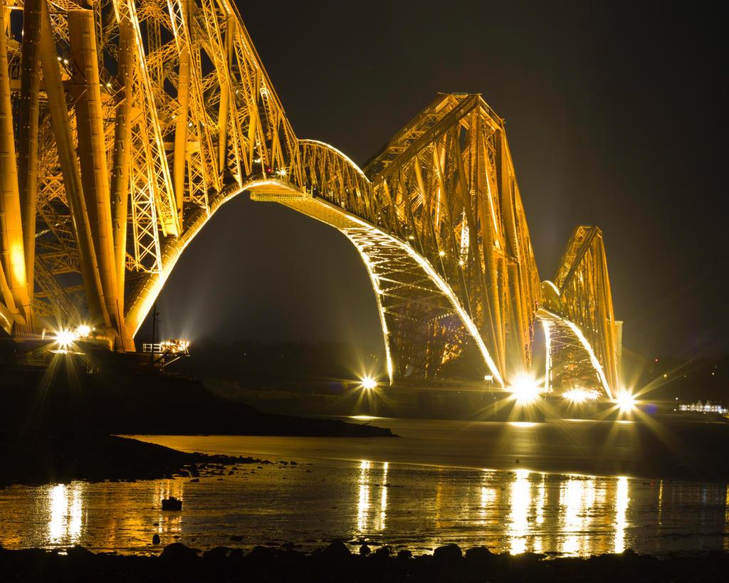 Forth Rail Bridge by BusterBrownBB