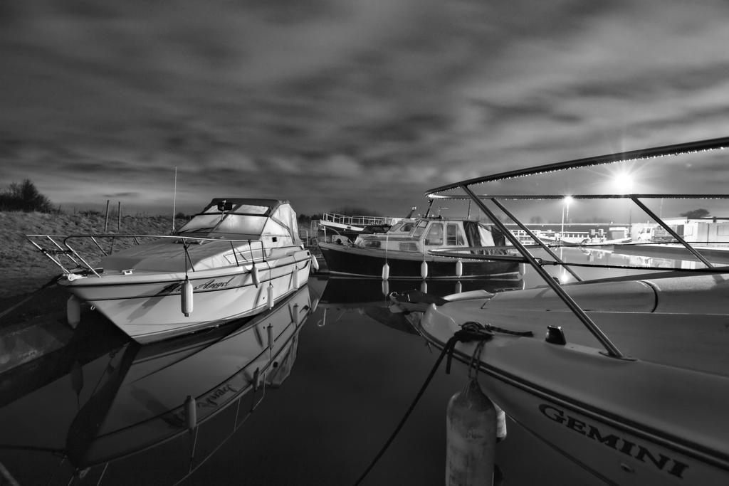 Boats on the Forth and Clyde Canal. by BusterBrownBB