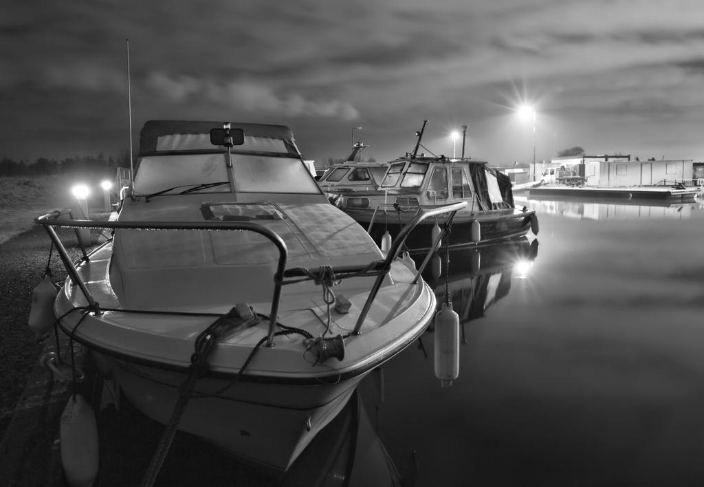 Boats on the Forth and Clyde Canal by BusterBrownBB