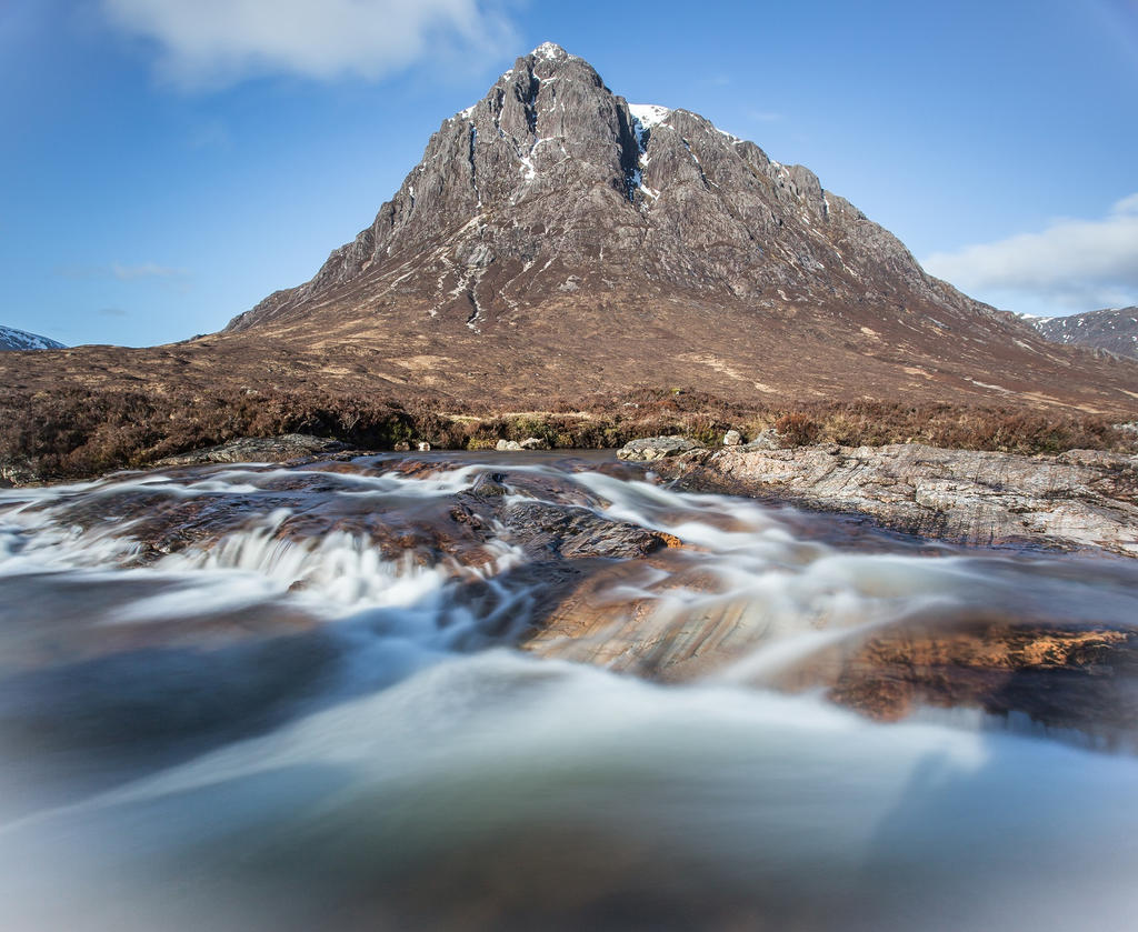 Stob Dearg (Buachaille Etive Mor) by BusterBrownBB