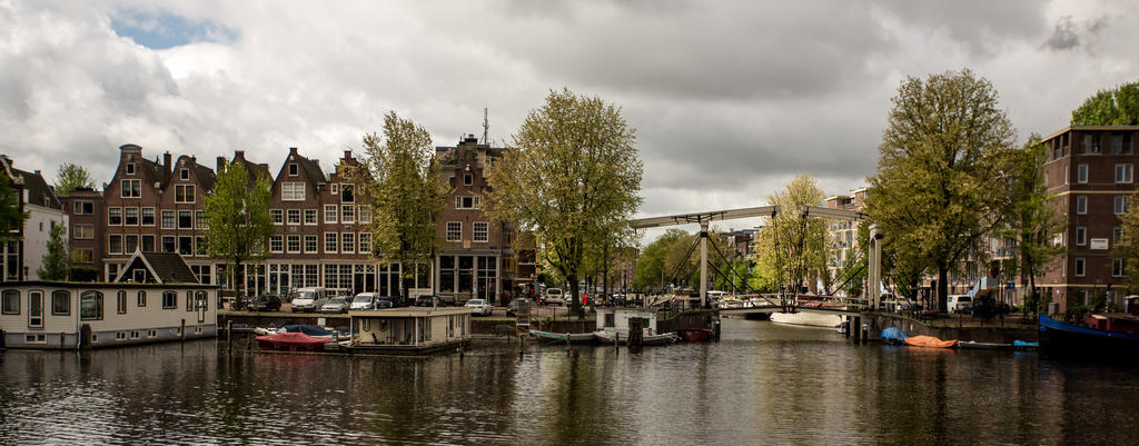 Amsterdam Canal by BusterBrownBB