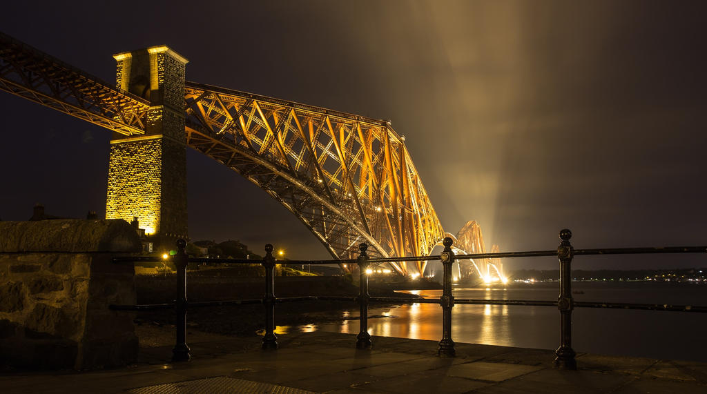 Forth Bridge, Scotland by BusterBrownBB
