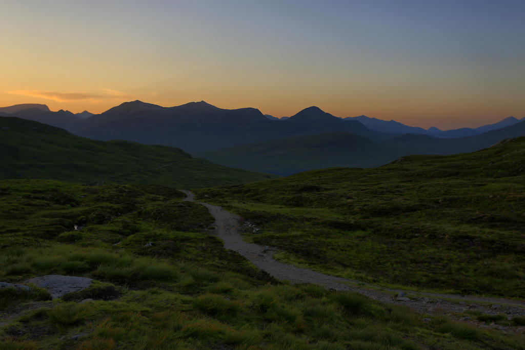 The Devils Staircase in the Gloaming. by BusterBrownBB