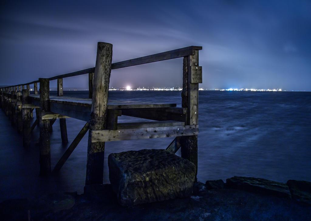Culross Pier by BusterBrownBB