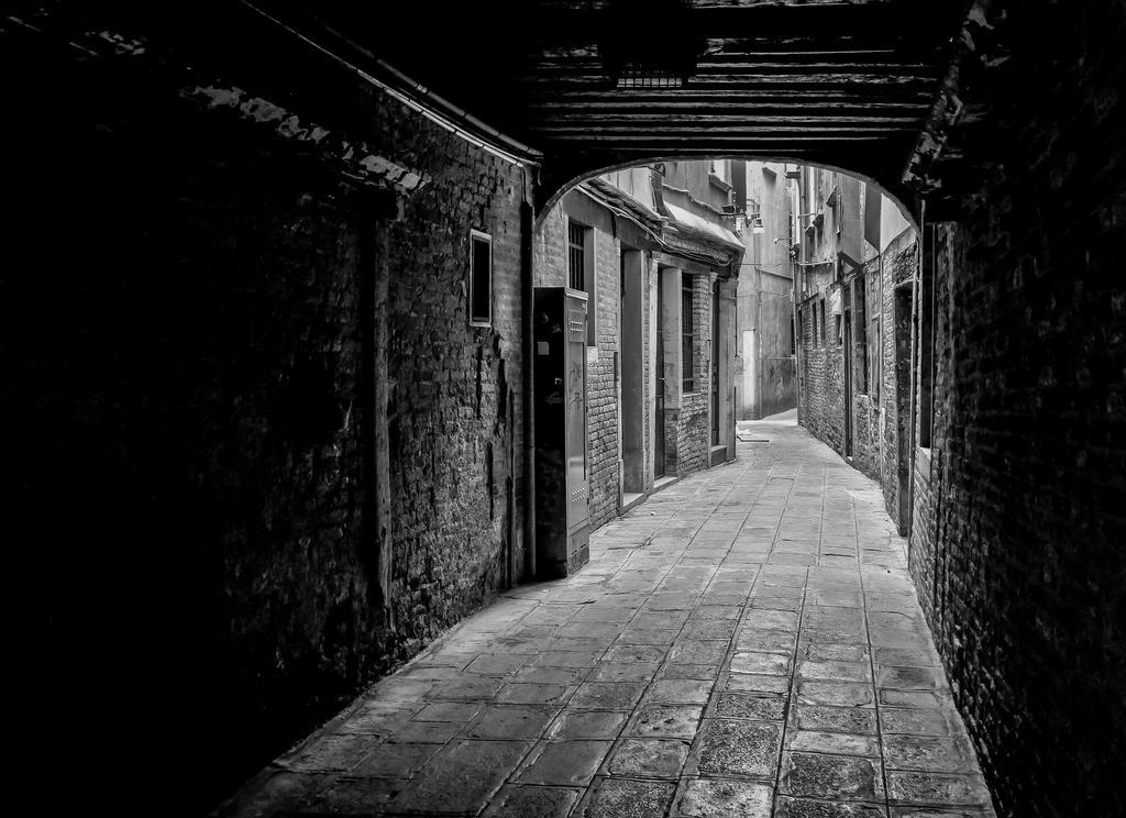 Alleyway in Venice by BusterBrownBB