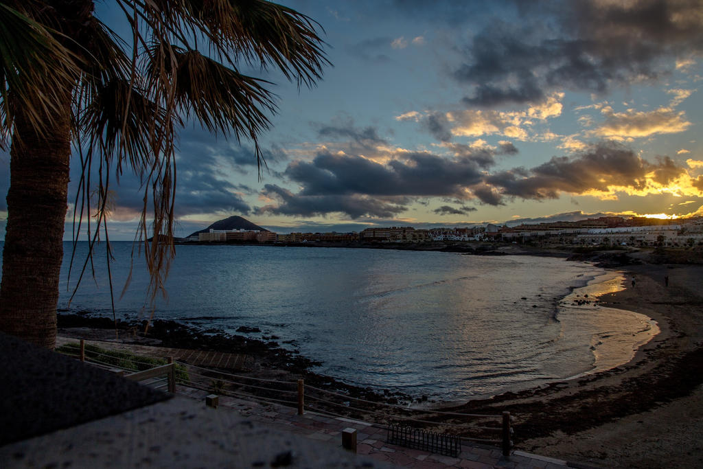 Sunset in Tenerife by BusterBrownBB
