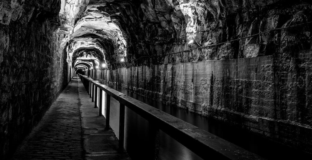 The Darkie Tunnel in Falkirk. by BusterBrownBB