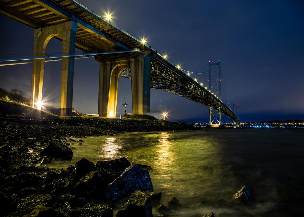 Forth Bridge Study #2 by BusterBrownBB
