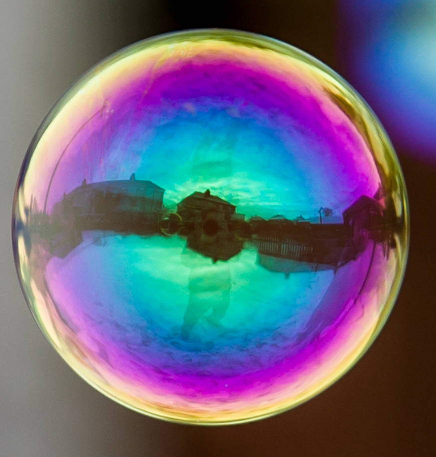 Bubble Selfie