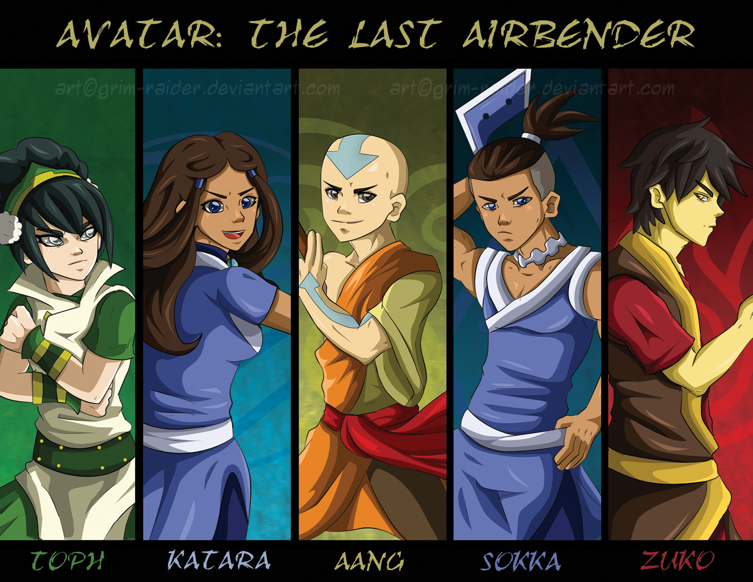 Avatar The Last Airbender United Redux By GrimzyRaider