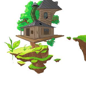 La casa de arbol abandonada by HHolyNight