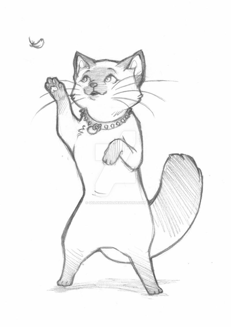 little kitten lost trade by goldendruid on deviantart