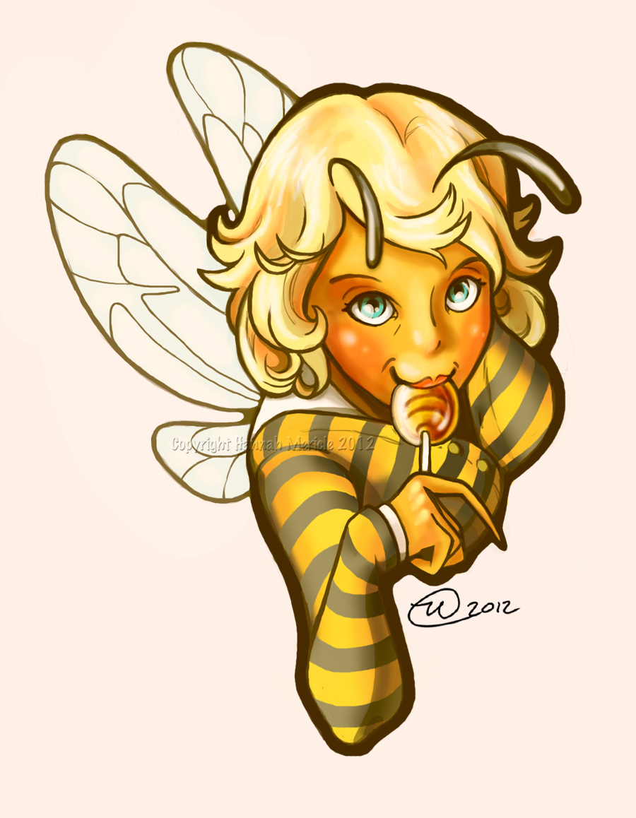 Sweet Bee by GoldenDruid