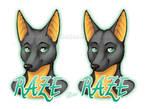 Raze - Badge Comparison