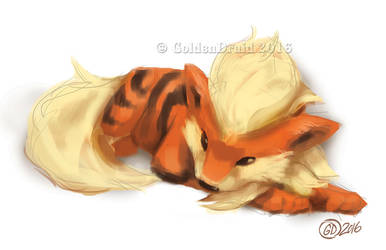 Arcanine SP by GoldenDruid
