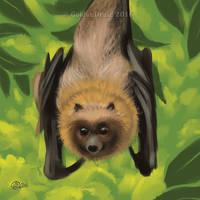 Flying Fox - SpeedPaint by GoldenDruid