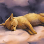 Dozing Dingo - SpeedPaint