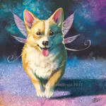 Corgi Fairy - SpeedPaint