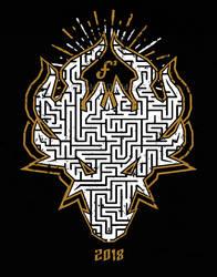 Dragon Maze FurSquared Tshirt