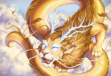 LeoDragon Reborn by GoldenDruid