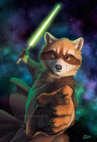 Wielding The Force by GoldenDruid